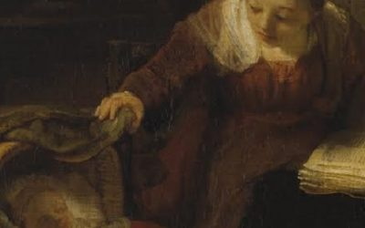 Rembrandt, Sacra Famiglia con angelo